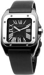 Cartier Men's W2020008 Santos 100 Medium Watch