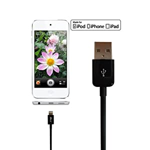 RND Apple Certified Lightning to USB 1.5FT Cable for iPhone (6/6 Plus/6S /6S Plus/5/5S/5C) iPad (Pro/Air/Mini) iPod and Siri Remote Data Sync and Char