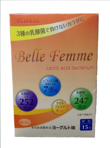 Belle Femme 3種の乳酸菌