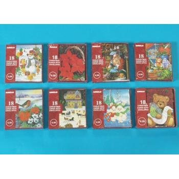 15 Count Christmas Cards- 12 Styles Case Pack