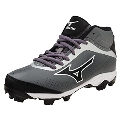 Buy Mizuno Mens 9-Spike Franchise 7 Mid Molded Baseball Cleat by BTS