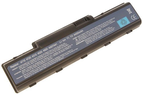 Wonderful-Capacity Li-ion Battery For Acer Aspire Aspire 4220 4310 4310G 4315 4320 4520 4520G 4710 4710G 4710Z 4715 4715Z 4720 4720G 4720Z 4920 4920G series put back AS07A41 AS07A31 AS07A32 series Ac Laptop Notebook Main Battery [ 8800mAh 12 Cells ]