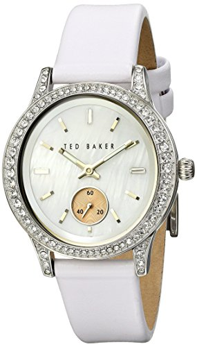 Ted Baker 34mm Ss Wht Oval Mop TE2117