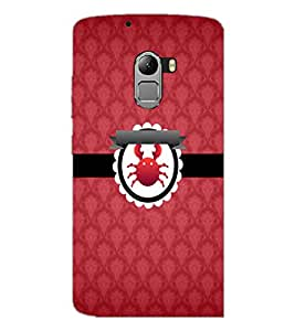PrintDhaba Zodiac Cancer D-3014 Back Case Cover for LENOVO VIBE K4 NOTE (Multi-Coloured)