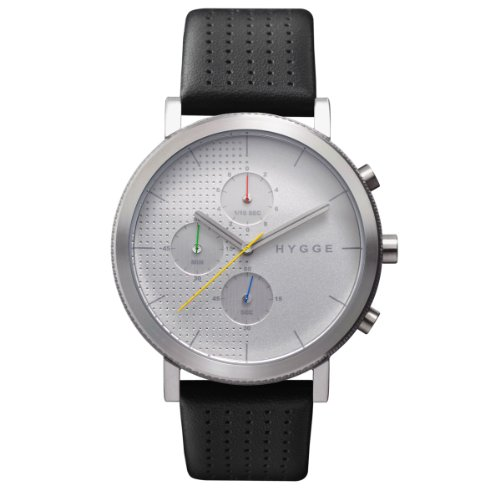 [ヒュッゲ]HYGGE 腕時計 2204 Leather/White dial POS+ [ポスト] MSL2204C(CH) メンズ 【正規輸入品】