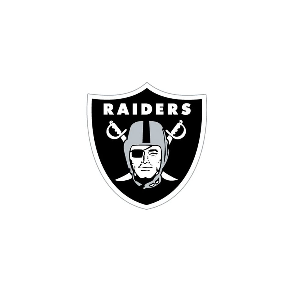 BSS   Oakland Raiders NFL Diecut Window Film