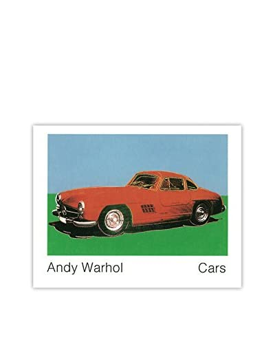 "Andy Warhol ""300 Sl Coupe (1954) (Lg)"" 1989 Unframed Poster, Multi"
