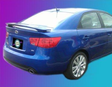 Honda Accord Coupe Rear Spoiler 2008 2009 2010 2011 2012 - Painted - B572P Mediterranean Blue Pearl