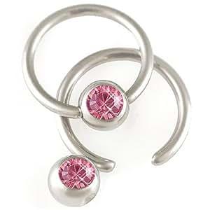 Amazon.com: tragus earrings hoop conch ear piercing jewelry anti gem