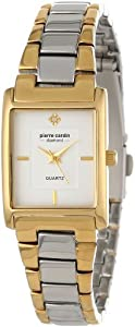 Pierre Cardin Women's PC900942002 Classic Analog Diamond Accents Watch
