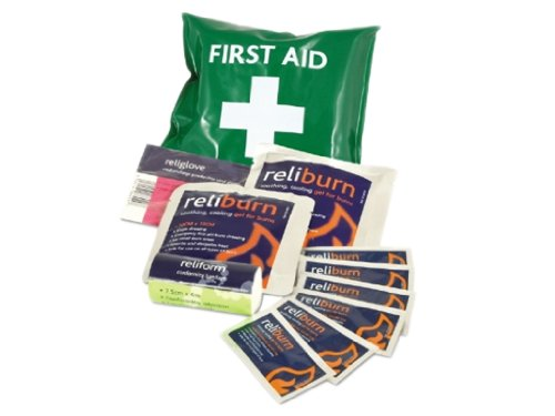 Reliance Medical Mini Burns First Aid Kit in Vinyl Pouch
