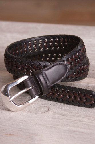 Burma Braid Leather BeltB0006FQYSG
