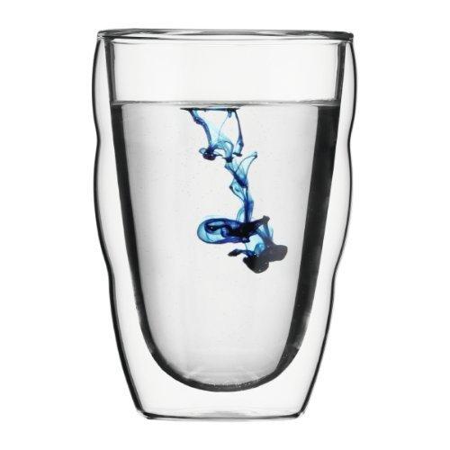 bodum PILATUS Double Wall Glass 0.35L (2 sets) 10485-10 by Bodum