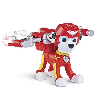 Paw Patrol, Air Rescue Marshall, Pup Pack & Badge by Spin Master