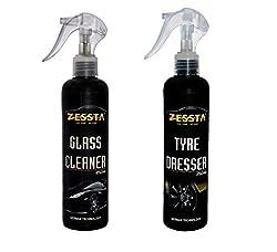 Zessta Glass Cleaner & Tyre Dresser (250 Ml)