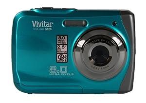 Compact Underwater Digital Camera Vivitar 8426 Waterproof 8 Megapixel - 3 Metres Underwater - Aqua Blue