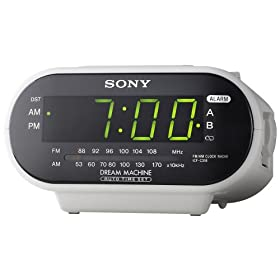 Sony ICF-C318 Automatic Time Set Clock Radio w/ Dual Alarm