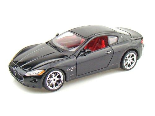 ダイキャストカー 2008 マセラティ グランツーリスモ ブラック 1/24 (並行輸入品)