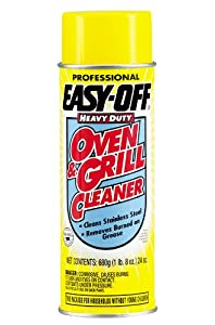 Easy Off Professional Oven and Grill Cleaner Aerosol, 24 Ounce