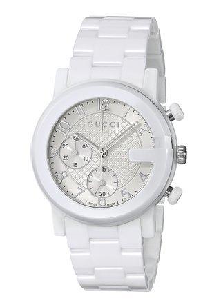 R.GUCCI THE G CR.LG BL.CERAM.BL. relojes hombre YA101353