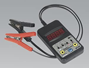 Sealey BT102 12V Digital Battery and Alternator Tester