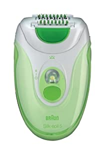 Braun Silk Epil 5 Epilator with ice glove (Green)