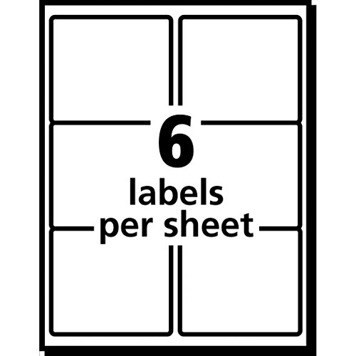 avery u00ae white shipping labels for laser printers with