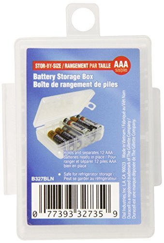 Dial AAA Battery Storage Box (B327FN) by Dial (Dial Aaa Battery Storage Box compare prices)