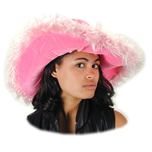 Pink Fur Sugar Daddy Costume Hat