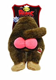 Silly Bums Baboon Bum Plush Dog Toy, Large