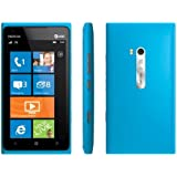 Nokia Lumia 900 16GB AT&T Unlocked GSM 4G LTE Windows 7.5 Smartphone - Cyan Blue
