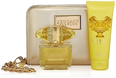 Versace Yellow Diamond 3 Piece Gift Set for Women