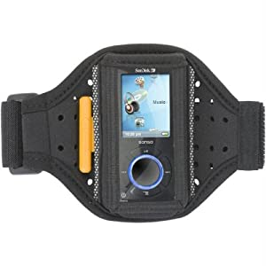 Griffin Tempo Armband Case for Sansa e200 Series MP3 Players (Black)