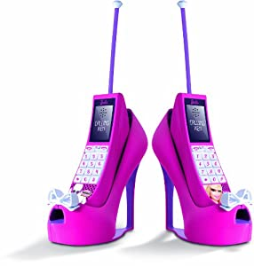 Imc Toys - Telefono Intercomunicador Barbie C/ Base Zapatos 43-784208