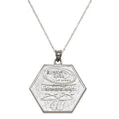 NASCAR Jimmie Johnson 2013 Sprint Cup Series 6X Champion Necklace by Logo Art