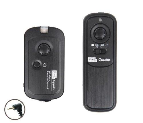 Khalia-Foto Funkfernauslöser -E3- für Canon EOS 60D, 1100D, 1000D, 600D, 550D, 500D, 450D, 400D, 350D, 300D, 300Dx, 300v, 300, 3000, 30, 30v, 33, 33v, 50, 50e, 500, 5000 - ähnlich Canon RS-60E3 by Pixel
