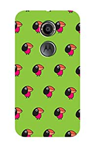 ZAPCASE Printed Back Case for MOTOROLA MOTO X2