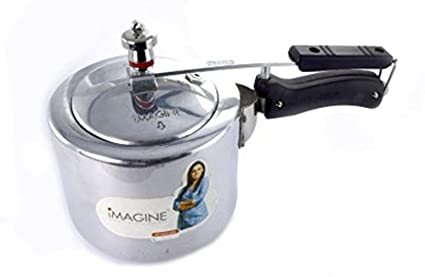 Imagine SSIC 004 Aluminium 3 L Pressure Cooker (Induction Bottom,Inner Lid)