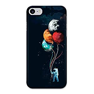 CrazyInk Premium 3D Back Cover for IPHONE 7 - COLORFUL PLANETS