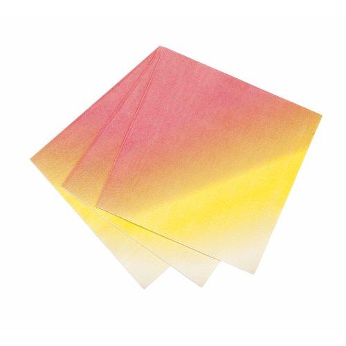 Paper Napkins, Ombre, Set Of 20