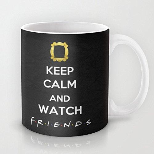 Astrode F.R.I.E.N.D.S – Keep Calm Coffee Mug – 325 ml