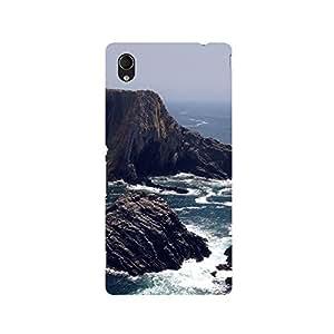 TAZindia Designer Printed Hard Back Mobile Case Cover For Sony Xperia M4