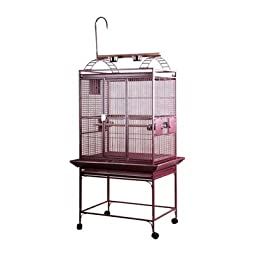 Large Play Top Bird Cage Color: Sandstone