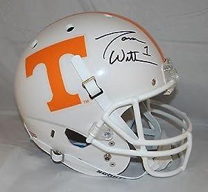 Jason Witten Autographed Full Size Tennessee Volunteers Helmet- W Auth - JSA...