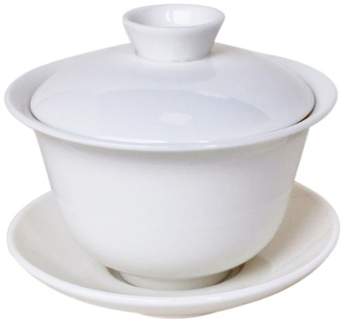 Canton Tea Traditional Ceramic Gaiwan, White by Canton Tea Co. (Canton Tea Co compare prices)