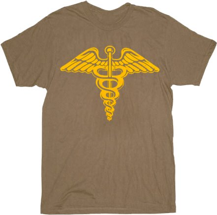 Adults Official Ferris Bueller's Day Off T-shirt. Army Brown.