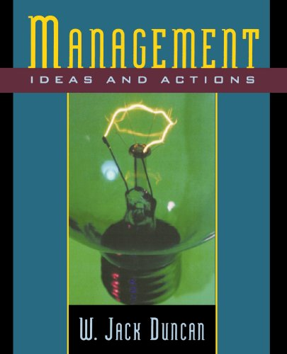 Management: Ideas and Actions (Advances in Contemporary)