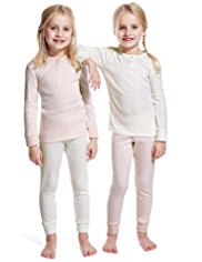 2 Pack Autograph Pure Cotton Cosy Pyjamas