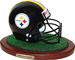 Pittsburgh Steelers Memory Company Team Helmet Figurine NFL Football Fan Shop Sports Team Merchandise