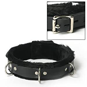Strict Leather Fur Lined Collar